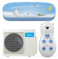 Кондиционер MIDEA KIDS STAR MSKU-09HRDN1-B INVERTER (инсталляция в комплекте)